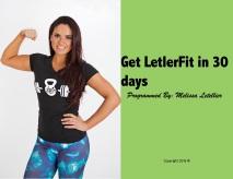 Get LetlerFit in 30 days ebook (dragged)